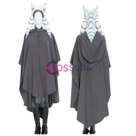 Ahsoka Tano Costumes Star Wars The Mandalorian Cosplay Suit