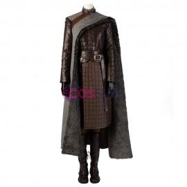 Arya Stark Cosplay Costume Game of Thrones Season 8 Cosplay Suit