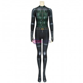Avengers Infinity War Black Widow Cosplay Costume Natasha Romanoff Jumpsuit