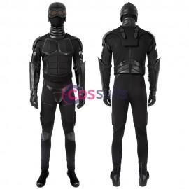 Black Noir Costume The Boys Black Noir Cosplay Suit