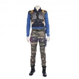 Black Panther Erik Killmonger Cosplay Costume Outfits