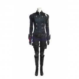 Black Widow Costume Avengers Infinity War Natasha Romanoff Cosplay Suit