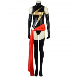 Captain Marvel Costume Carol Danvers Cosplay Suit