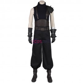 Cloud Cosplay Costume Final Fantasy VII Remake Cloud Black Suit