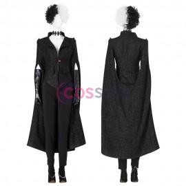 Cruella De Vil Black Suit Cosplay Costume Full Set