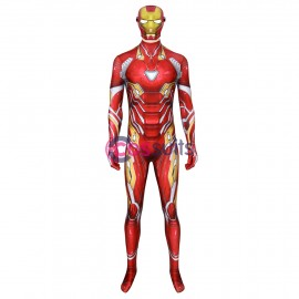 Endgame Iron Man Tony Stark Nanotech Costume Cosplay Suit