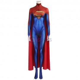 Flashpoint Supergirl Costume 2022 Superwoman Kara Zor-El Cosplay Suit