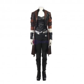 Guardians Of The Galaxy 2 Gamora Cosplay Costume Top Level