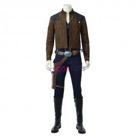 Han Solo Cosplay Costume 2018 Solo A Star Wars Story Cosplay Suit