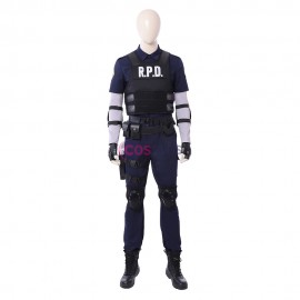 Leon Cosplay Costume Resident Evil 2 Remake Cosplay Outfit