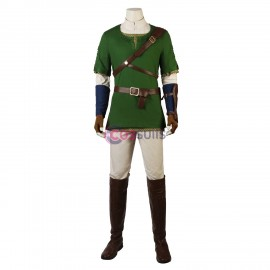 Link Cosplay Costume The Legend of Zelda Twilight Princess Cosplay Outfit