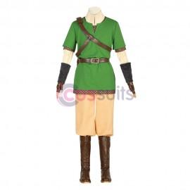 Link Cosplay Costumes The Legend of Zelda Skyward Sword Cosplay Suit