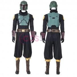 Mandalorian Cosplay Costumes Star Wars Boba Fett Cosplay Suit