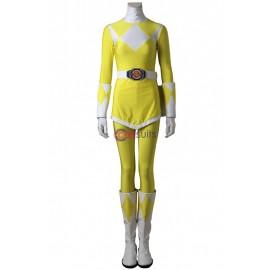 Mighty Morphin Power Rangers Trini Kwan Yellow Ranger Cosplay Costume