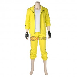 PUBG Yellow Tracksuit SET Battle Royale Cosplay Costume