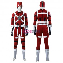 Red Guardian Cosplay Costumes Black Widow 2020 Cosplay Suit