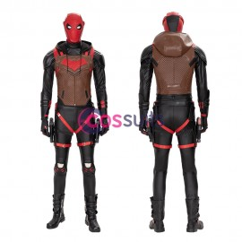 Red Hood Cosplay Costumes Gotham Knights Jason Todd Cosplay Suit