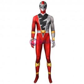 Red Power Ranger Costume Koh Ryusoulger Red Ranger Cosplay Suit