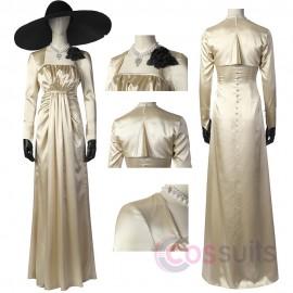 Resident Evil Village Lady Dimitrescu Ver.2 Cosplay Costume