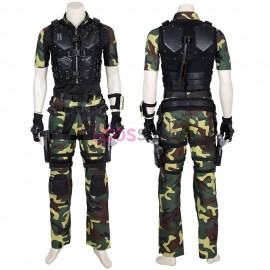 Roadblock Cosplay Costume G.I. Joe Retaliation Cosplay Suit
