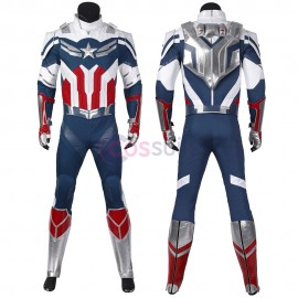 Sam Wilson Cosplay Costumes The Falcon Cosplay Suit