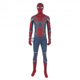 Spider-man Cosplay Costume Avengers Infinity War Spider Iron Suit