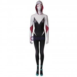 Spider-Man: Into the Spider-Verse Spider-Gwen Gwen Stacy Cosplay Costume