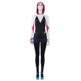 Gwen Stacy Cosplay Costume Spider Man Into The Spider Verse Cosplay Suit