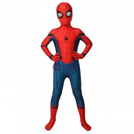 Kids Spider-man Suits Homecoming Spiderman Cosplay Jumpsuit