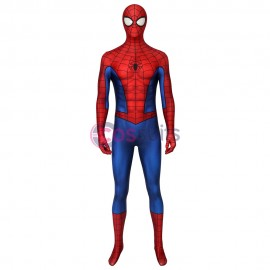 Spiderman ps4 4D Classic Suit Game Spider-man PS4 Cosplay Costume