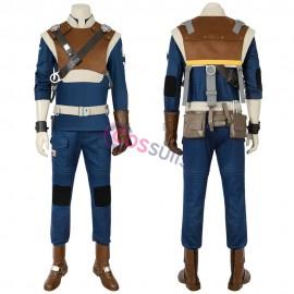 Cal Kestis Costume Star Wars Jedi Fallen Order Cal Cosplay Suit