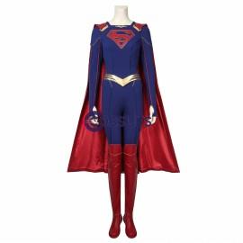 Supergirl Kara Zor-El Cosplay Costume Supergirl Season 5 Cosplay Suit