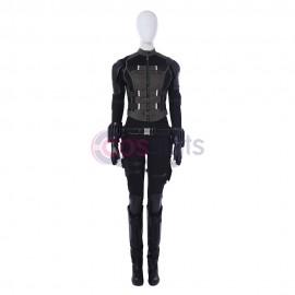 The Avengers Black Widow Natasha Romanoff Cosplay Costume