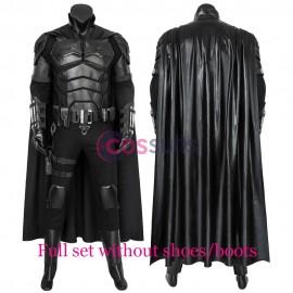 The Batman 2021 Movie Cosplay Costumes Bruce Wayne Robert Pattinson Batsuit