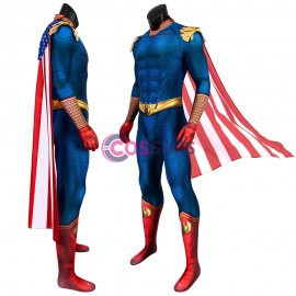 The Boys Zentai Jumpsuit The Boys Homelander Cosplay Costume