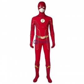 The Flash Season 6 Suit Deluxe Barry Allen Cosplay Costume