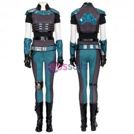 The Mandalorian Cara Dune Costume Star Wars Cara Cosplay Suit