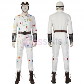 The Suicide Squad 2 Cosplay Costumes Polka-Dot Man Cosplay Suit