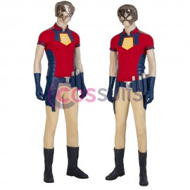 The Suicide Squad 2 Costume Peacemaker Christopher Smith Cosplay Suit
