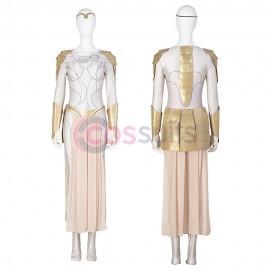 Thena Cosplay Costume Eternals Cosplay Suits