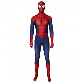 Ultimate Spiderman Peter Parker Jumpsuit Cosplay Costume