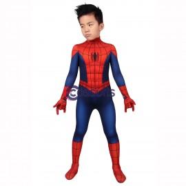 Kids Ultimate Spider-Man Suit Peter Parker Cosplay Costume