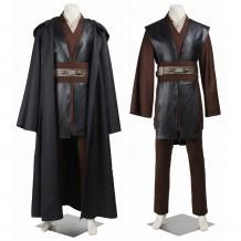 Anakin Skywalker Cosplay Costume Star Wars Black Cosplay Suit
