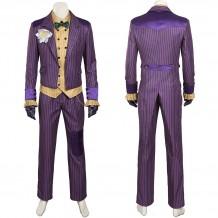 Batman Arkham Asylum Joker Cosplay Costume