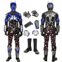 Batman Arkham Knight Costume Cosplay Suit Top Level