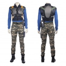 Black Panther Erik Killmonger Cosplay Costume Outfits