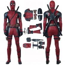 Deadpool 2 Wade Wilson Costume Cosplay Suit Full set