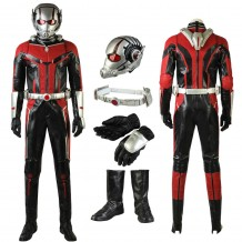 Scott Lang Costume Ant-Man Cosplay Suit Full set