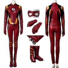 The Flash Season 3  Jesse Quick Cosplay Costume
