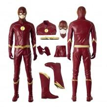 The Flash Costume Barry Allen Season 4 Cosplay Suit